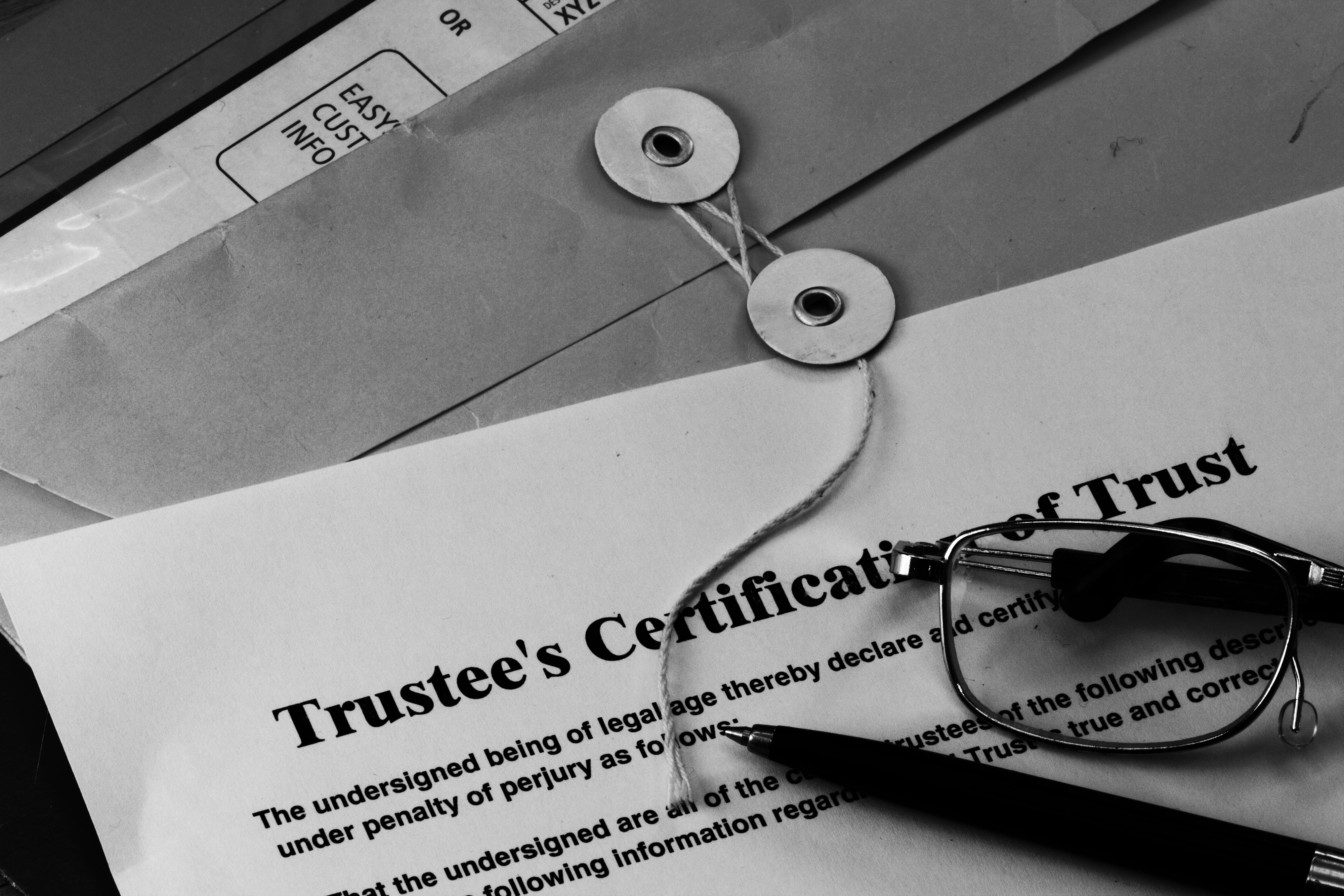 Trustee-papers
